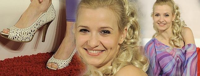 Joanna Koroniewska w loczkach i legginsach (FOTO)