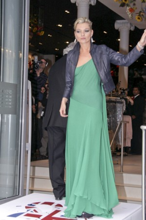 Pijana Kate Moss na otwarciu sklepu TopShop? (FOTO)