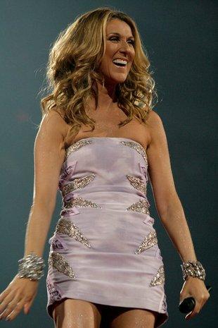 Ciężarna Celine Dion na zakupach w Nowym Jorku
