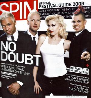 No Doubt na okładce magazynu Spin