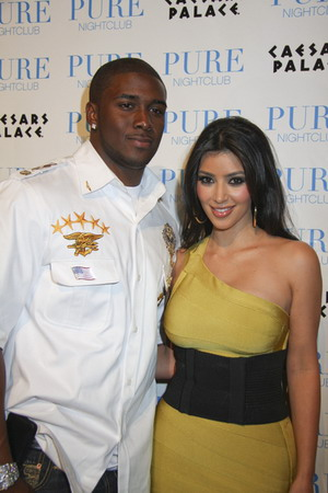 Kim Kardashian i Reggie Bush to już koniec!
