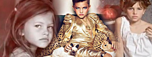 Thylane Blondeau – 10-letnia modelka jak kobieta