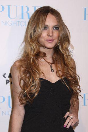 Lindsay Lohan w uściskach Samanthy