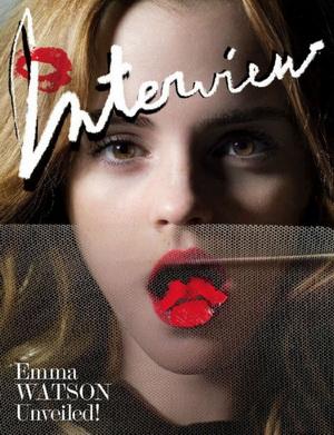 Emma Watson na okładce magazynu Interview (FOTO)