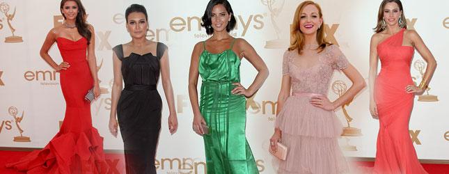 Nagrody Emmy – kreacje gwiazd (FOTO)