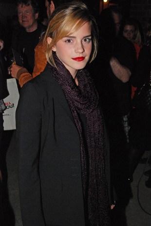 Poważna Emma Watson (FOTO)