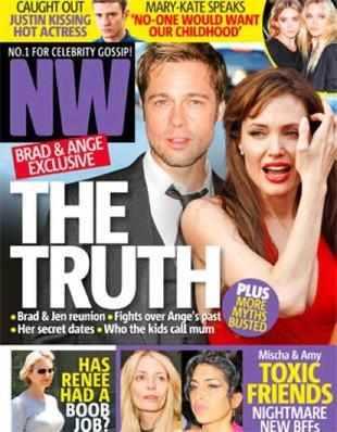 Angelina Jolie znowu w szpitalu psychiatrycznym?