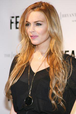 Lindsay Lohan wygląda jak przecinek