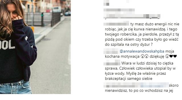 Fan do Lewandowskiej: Jak ja cię k**wa NIENAWIDZĘ! I Robercika też!
