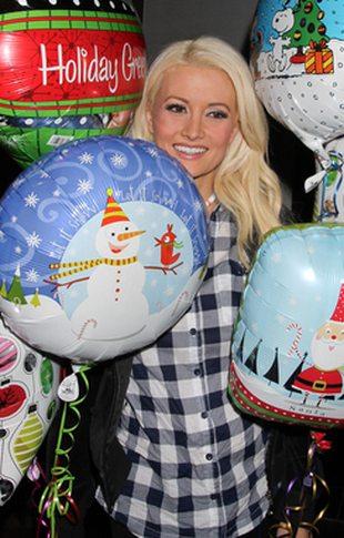Holly Madison i jej balony (FOTO)