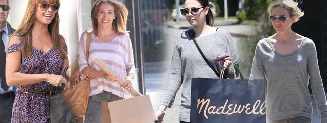 Gwiazdy na zakupach i w salonach piękności (FOTO)