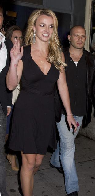Obwisłe piersi Britney Spears