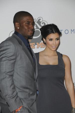 Idealnie zgrani Kim Kardashian i Reggie Bush (FOTO)