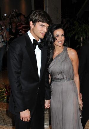Klasycznie piękni Demi Moore i Ashton Kutcher (FOTO)