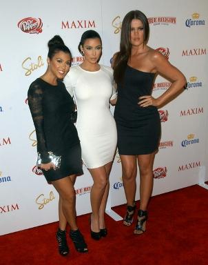 Siostry Kardashian na imprezie Maxima (FOTO)