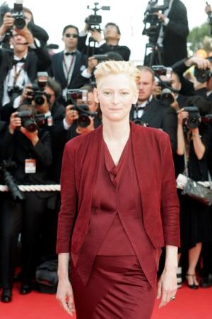 Tilda Swinton w Cannes (FOTO)