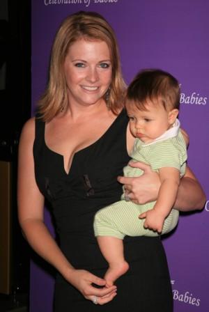 Melissa Joan Hart z synkiem