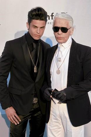 Czy to nowy kochanek Karla Lagerfelda? (FOTO)