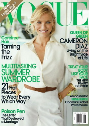 Cameron Diaz w Vogue (FOTO)
