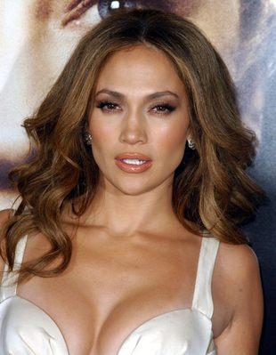 Jennifer Lopez i jej błyszcząca pupa