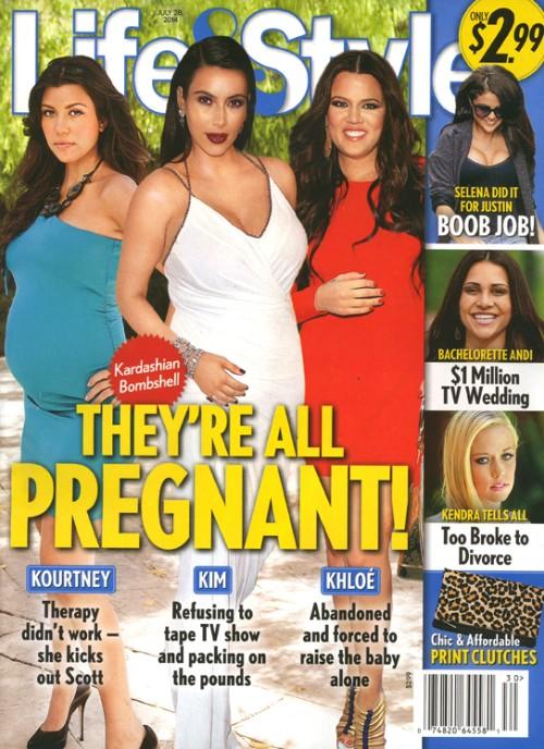 Kim Kardashian odchodzi z show, bo jest w ciąży?!