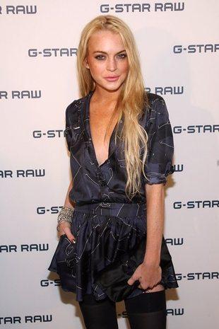 Pokaz mody Lindsay Lohan okazał się klapą