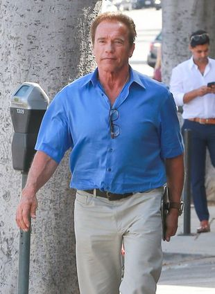 Arnold Schwarzenegger został zaatakowany przez… SŁONIA! (VIDEO)
