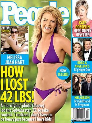 Melissa Joan Hart chwali się swoją nową figurą