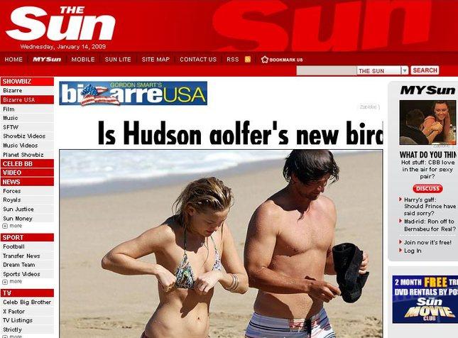 Kate Hudson w bikini