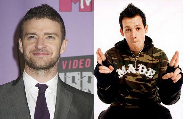 Czy Joel Madden i Justin Timberlake są podobni?
