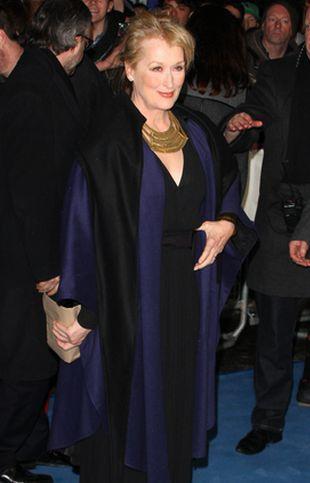 Meryl Streep na premierze Iron Lady (FOTO)