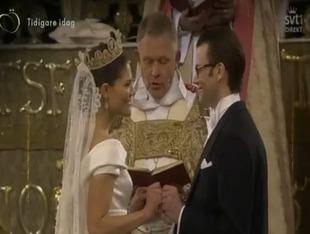 Księżniczka Wiktoria miała ślub jak z bajki [VIDEO]