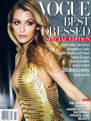 Blake Lively wyróżniona przez redaktorów Vogue'a (FOTO)