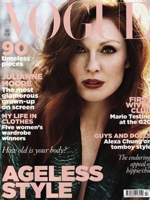 Julianne Moore dla magazynu Vogue (FOTO)