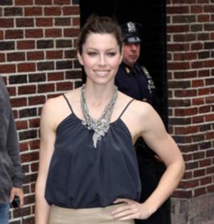 Jessica Biel u Davida Lettermana (FOTO)