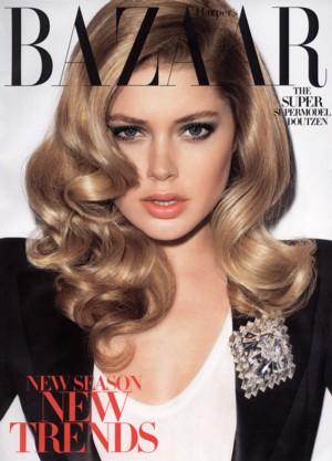 Doutzen Kroes dla Harper's Bazaar (FOTO)