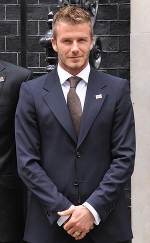 David Beckham  dla Armaniego (FOTO)