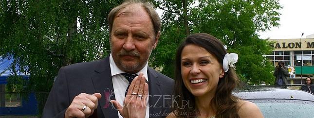 Andrzej Grabowski stanął na ślubnym kobiercu (FOTO)