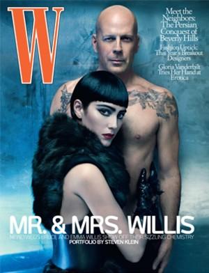 Bruce Willis i Emma Heming dla magazynu W (FOTO)