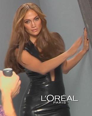 Seksowna Jennifer Lopez – wideo zza kulis reklamy L'Oreal
