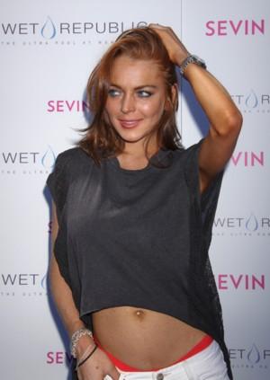 Lindsay Lohan i jej pomarańczowe majtki (FOTO)
