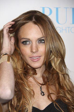 Lindsay Lohan robi się obrzydliwie chuda