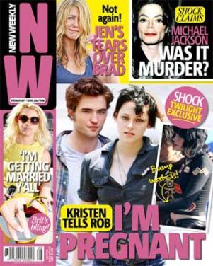 Kristen Stewart jest w ciąży z Pattinsonem!