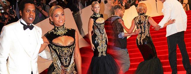 Beyonce nie mogła chodzić w sukience Pucci (FOTO)