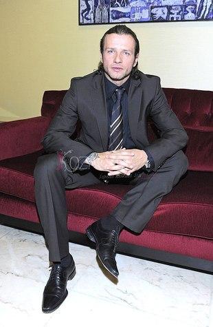 Radosław Majdan jest modelem
