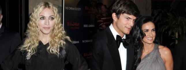 Czy Madonna przekona Demi i Ashtona do adopcji?
