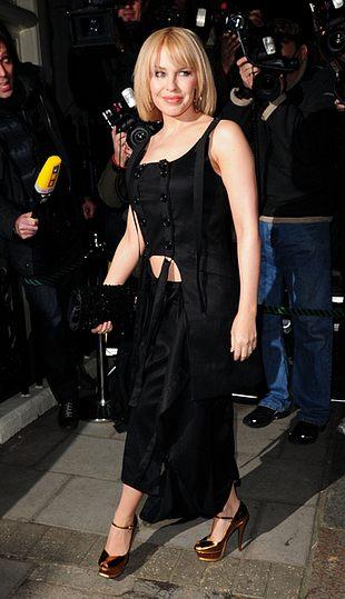 Kylie Minogue zaliczyła wpadkę (FOTO)