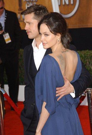 Troskliwa Angelina w nietypowym ujęciu