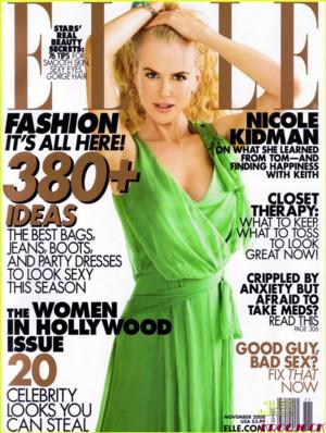 Nicole Kidman dla Elle