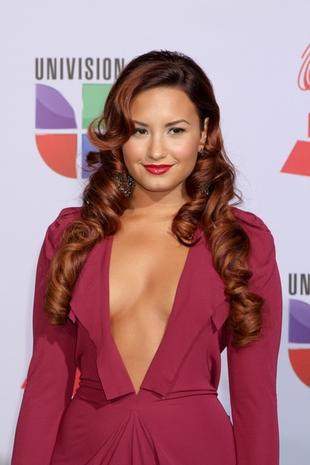 Dla tych, którzy nie widzieli – dekolt Demi Lovato (FOTO)